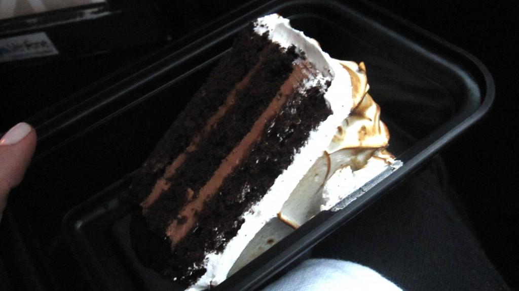 Devil's Food Cake {Black Pepper Boiled Icing, Fudge Sauce}…it was ...