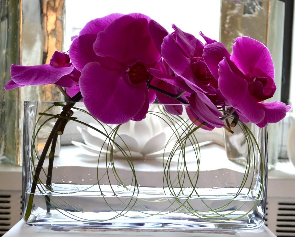 Bonjour hola a modern floral milieu for Contemporary centerpiece ideas