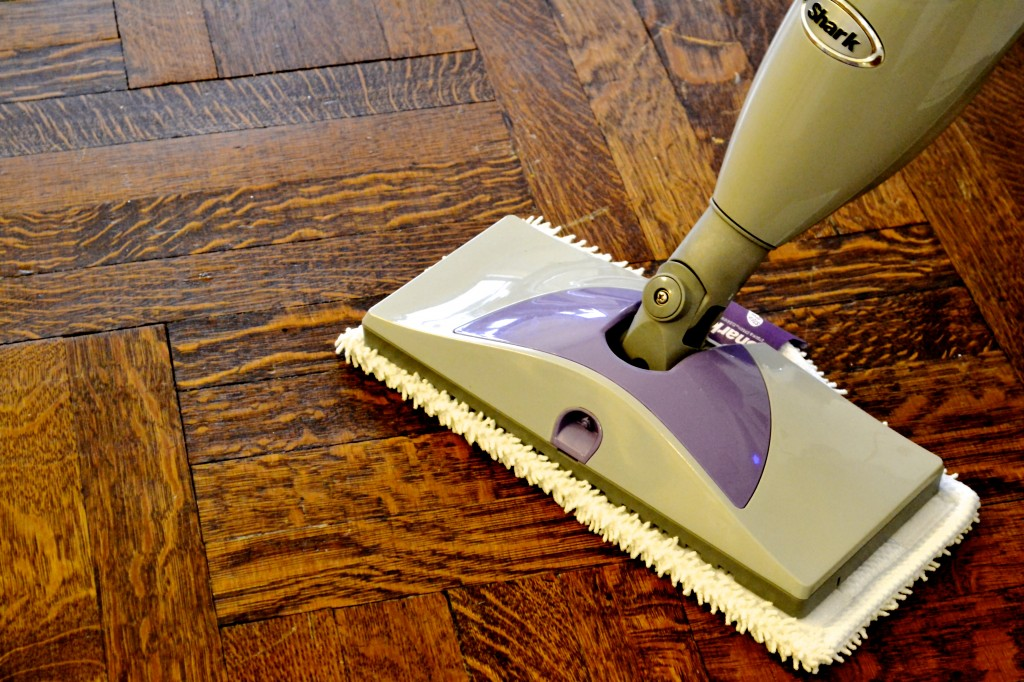 vileda spray mop how to put together